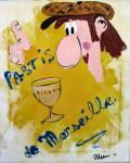 affiche acryl. toile 8F